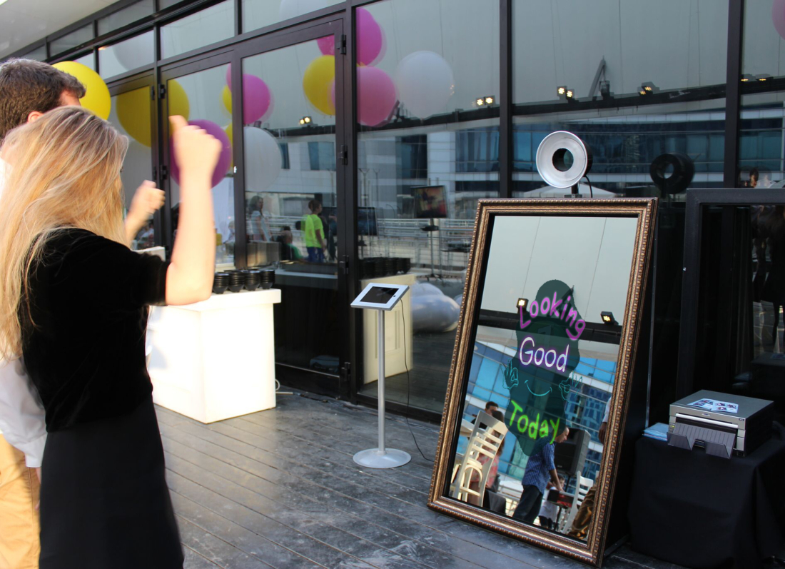 Selfie Mirror Photo Booth – Event Marketing Solutions| Photo Booth